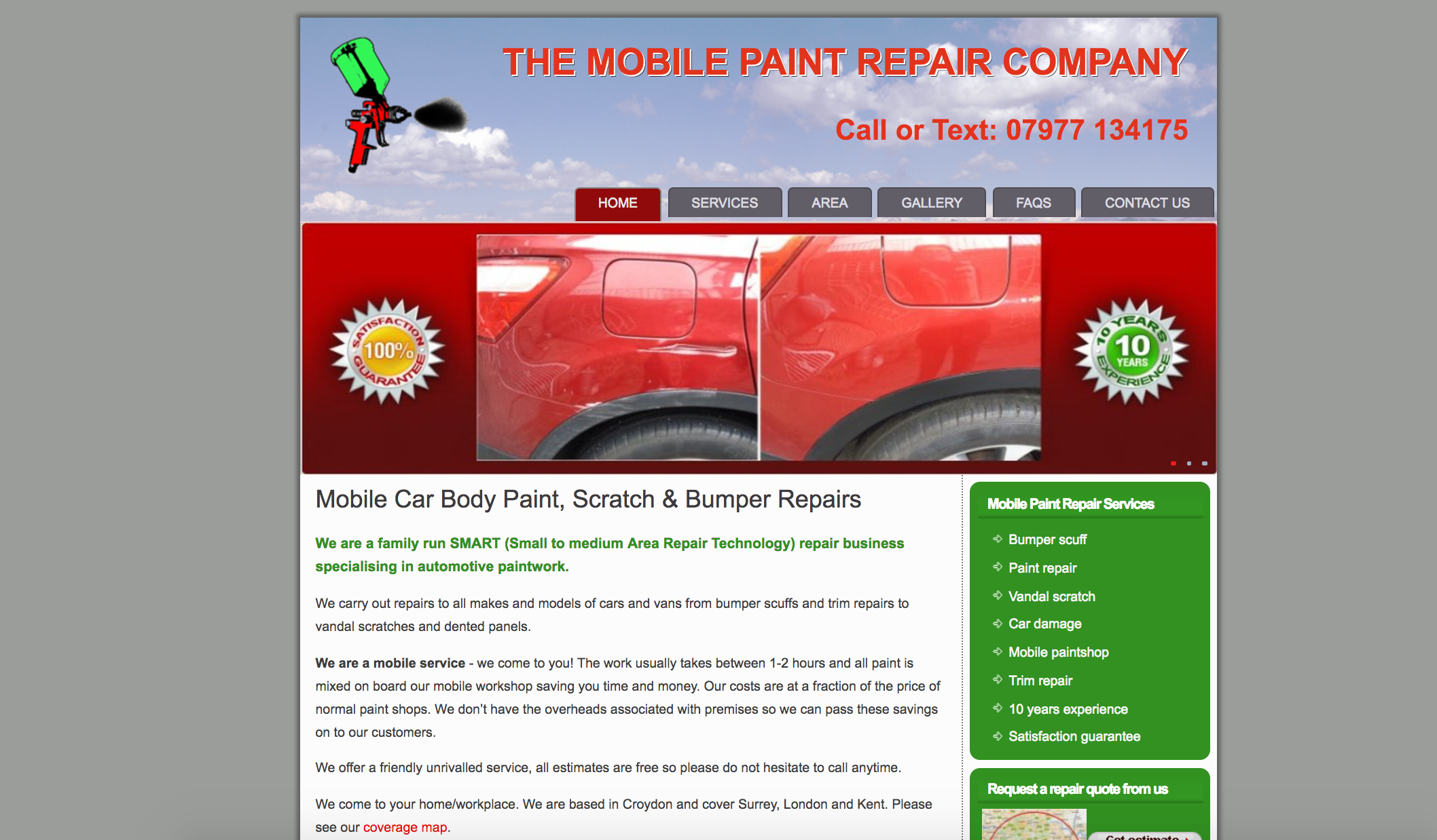 The Mobile Paint Repair Company